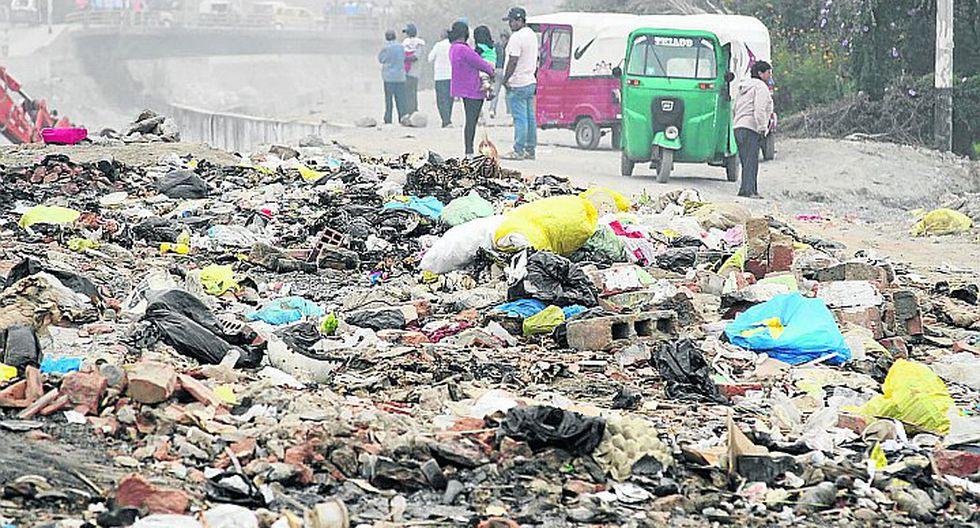 """""""Diestra SAC debe recoger  las 150 toneladas de basura con las 11 compactadoras"""""""
