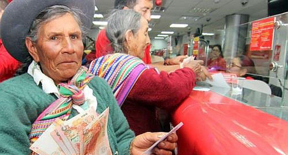 Adultos mayores cobrarán hoy pensión 65 en 10 ciudades del Perú