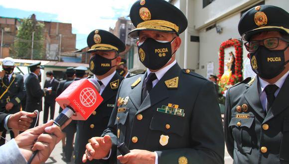 General PNP Roger Arista no aclaró el tema