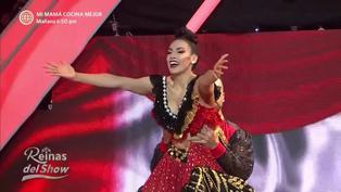 "Allison Pastor cautivó al jurado bailando festejo en ""Reinas del Show"" (VIDEO)"