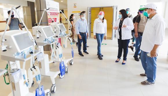 Entregan material médico y medicinas contra el COVID-19 en Tarapoto. (Foto: Midis)