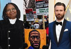 Celebridades aplauden la condena a expolicía acusado de matar por asfixia al afroamericano George Floyd