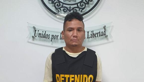 Carlos Alberto Rivasplata Trelles (31), quien tiene antecedentes por el delito de extorsión, es investigado en la Dirincri.
