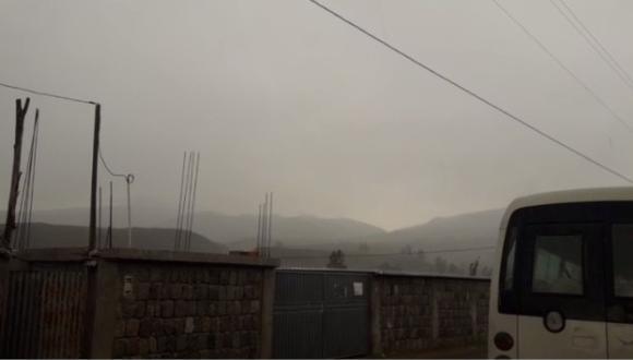 Lluvias acompañada de truenos se registran en diferentes distritos de Arequipa| Foto: Senamhi