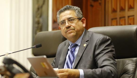 No prosperó moción de censura contra Manuel Merino, presidente del Congreso (Foto: Congreso)