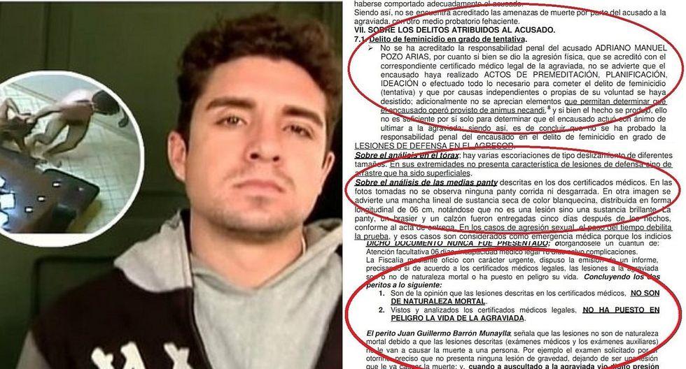 Caso Arlette Contreras: Los polémicos argumentos del PJ que absolvieron a Adriano Pozo