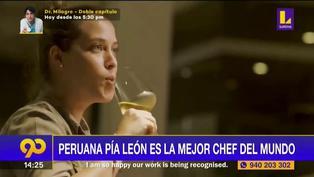 Peruana Pía León fue elegida como la Mejor Chef Femenina del Mundo 2021 (VIDEO)