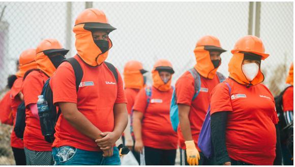 Hoy comenzó programa 'Trabaja Perú' con 98 empleos en Cerro Azul. (Foto: Difusión)