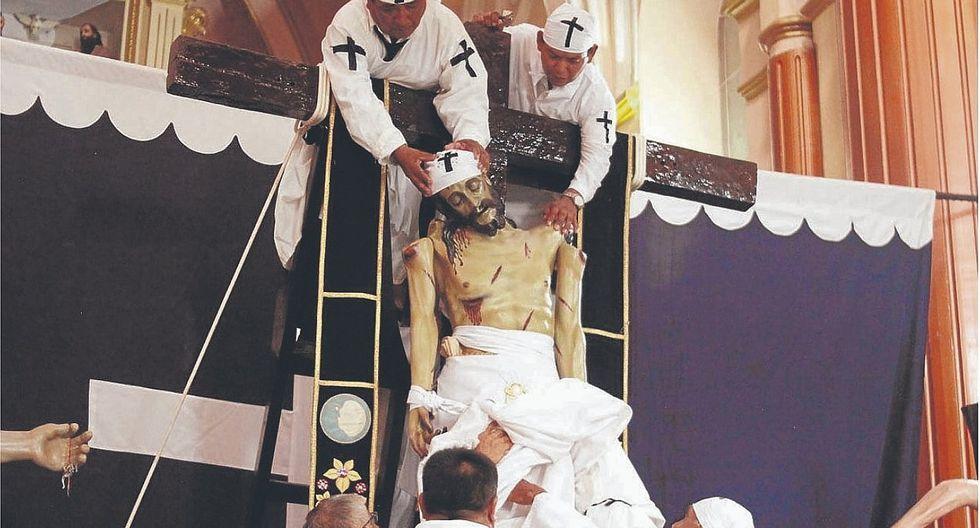 Con fervor religioso se recordó el sacrificio de Jesús