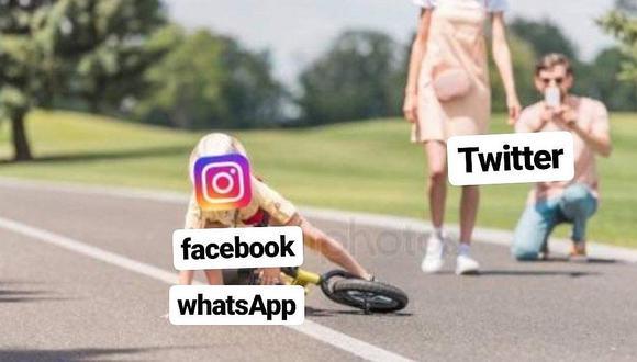 Memes de usuarios por la caída de Facebook, Whatsapp e Instagram (FOTOS)