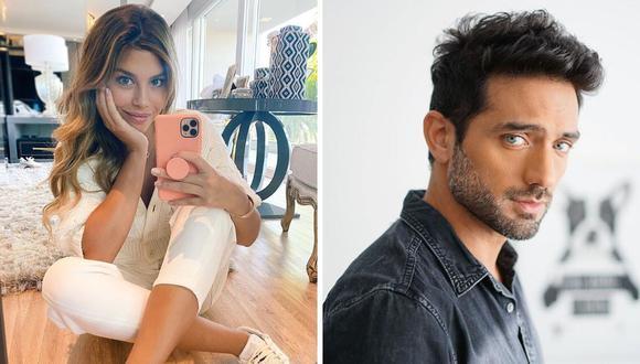 """Pablo Heredia y Alondra García Miró protagonizaron ayer el esperado beso de """"Paolo y Lucy"""" en la telenovela """"Te volveré a encontrar"""". (@pabloheredia10 / @alondragarciamiro)."""