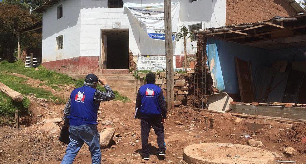 Defensoría alerta que municipio pidió 100 mil por emergencia y tiene daños menores