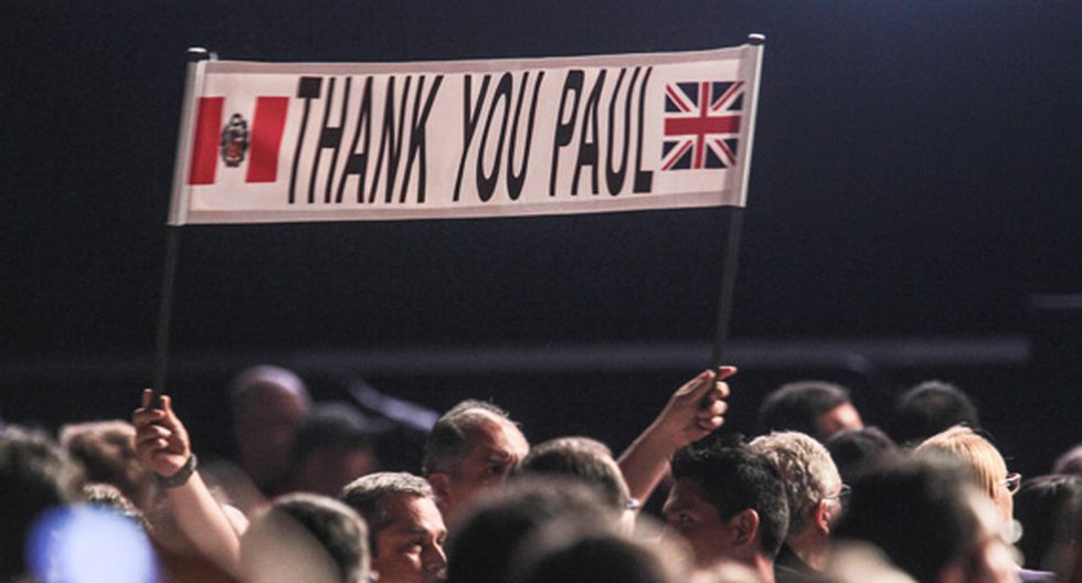 Paul McCartney en Lima: así fue el concierto del exbeatle