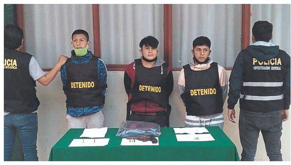 "Capturan a tres de ""Los Temibles"" en Chimbote"