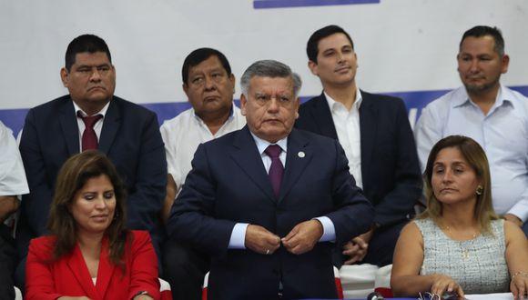 La agrupación APP ratificó la aprobación de la reforma relacionada a los impedimentos para postular a cargos de elección popular. (Foto: GEC)