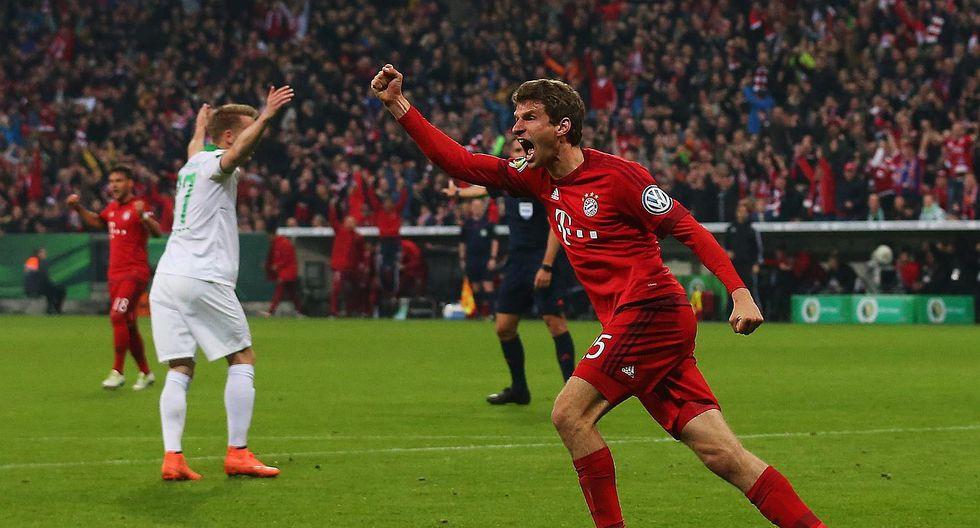 Bayern Munich supera al Werder Bremen y llega a la final de la Copa Alemana
