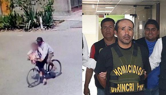 El 'monstruo de la bicicleta' César Alva Mendoza fue condenado a cadena perpetua