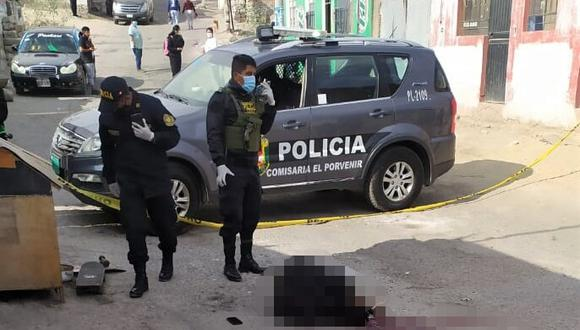 Disparan a joven de 18 años en la cabeza, en el distrito de Miraflores en Arequipa, pero no se llevan sus pertenencias. (Foto:  Difusión)