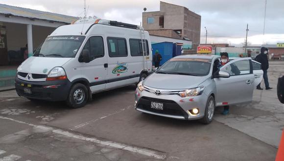 Algunos transportistas trataron trabajar con normalidad, pero no pudieron llegar a su destino. (Foto: Difusión)