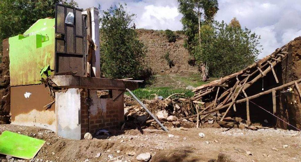 Huaico deja un desaparecido y arrasa con tres casas en Junín