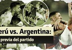 Perú vs. Argentina: mira aquí la previa del partido por Eliminatorias
