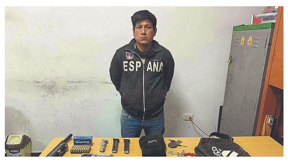 """Es cabecilla de la banda """"Richard Chato Juan"""" y fue detenido cuando se iba a reunir con sus cómplices para planear un crimen."""