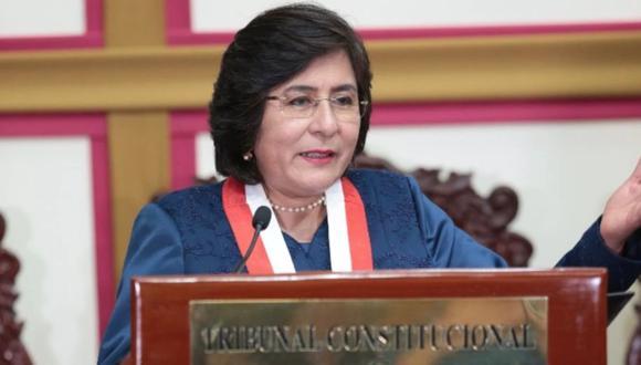 La magistrada Marianella Ledesma propuso meses atrás que los sueldos de altos funcionarios sean reducidos parcialmente. (Foto: GEC)