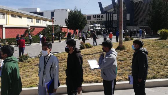 Los alumnos asistieron a doble turno Foto: Javier Cáceres