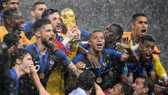 Francia venció por 4-2 a Croacia y es el nuevo campeón del mundo