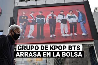 BTS: Acciones de la discográfica del grupo se duplican en su salida a bolsa