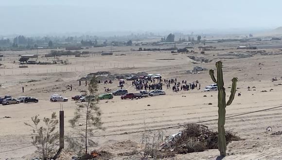 Terreno se ubica en el distrito de Calana en las faldas del cerro Arunta. (Foto: Difusión)