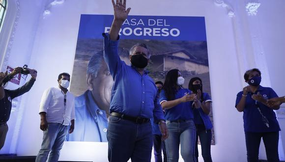 César Acuña rechazó la decisión del JEE Lima Centro 1 de excluirlo de las elecciones del 11 de abril. (Foto: APP)