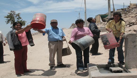 Sunass invoca el uso prudente del agua en la región sur