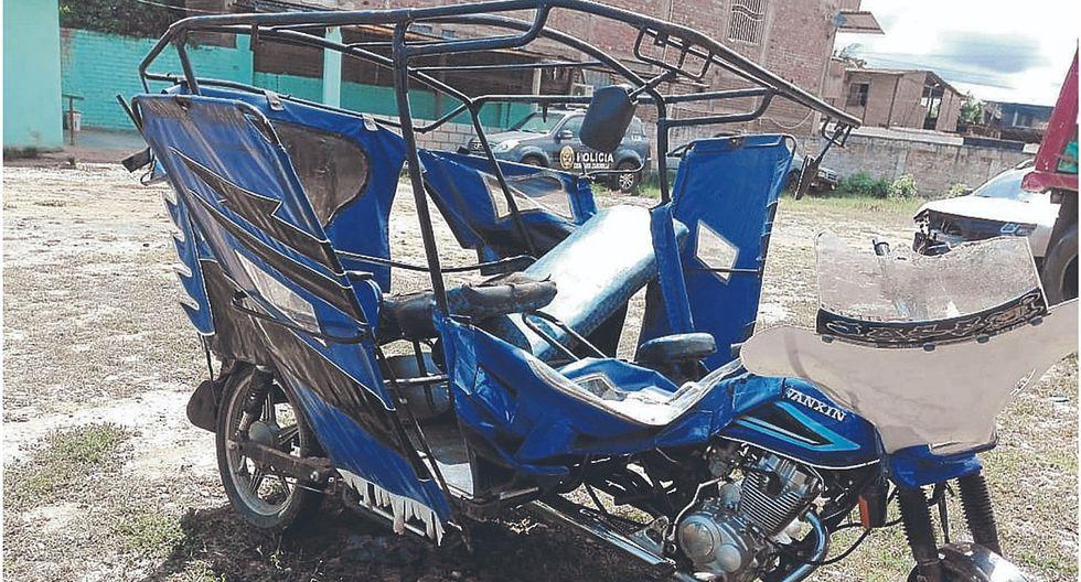 Choque de vehículos deja tres heridos