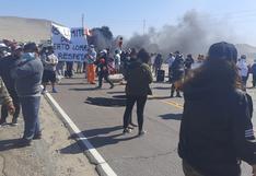 Pobladores de Lomas protestan por problemas limítrofes con Marcona