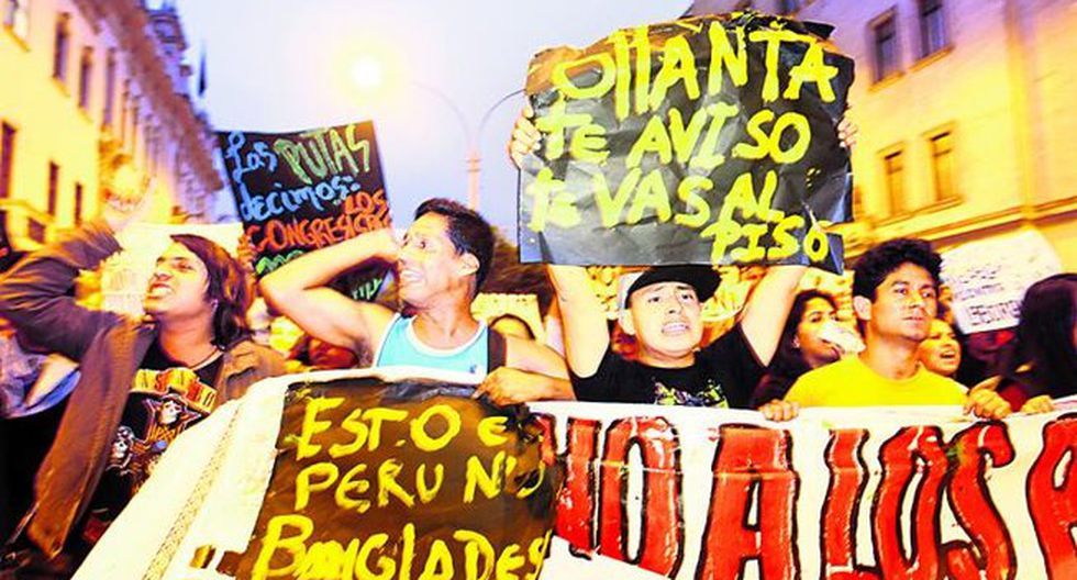 Ministerio del Interior advierte de acciones legales ante posible marcha a domicilio de Ollanta Humala