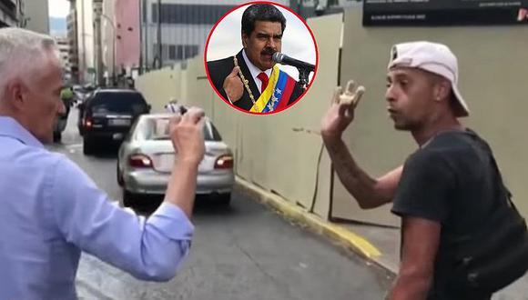 Este es el video que provocó que Nicolás Maduro cortara entrevista con Jorge Ramos de Univisión