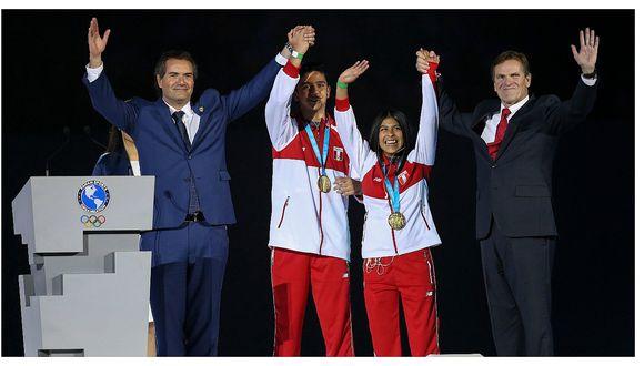Jóvenes deportistas peruanos recibieron medallas de oro en la clausura de Lima 2019 (VIDEO)