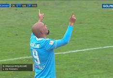Marcos Riquelme sorprendió con golazo para Cristal ante Alianza Atlético (VIDEO)