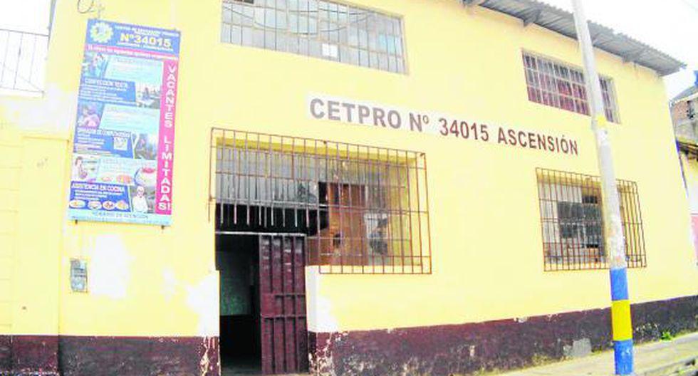 Cetpro Ascensión sigue en el retraso