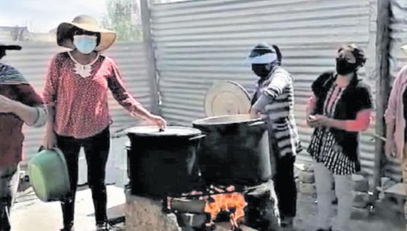 En Forjadoras de la Esperanza preparan entre 150 y 200 platos al día para comensales de la asociación José Luis Bustamante y Rivero. (Foto: Cortesía)