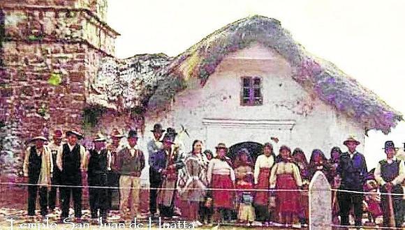 Recuperan fotos históricas a poco de aniversario de Huata