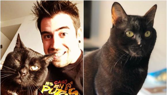 El youtuber consideraba a su mascota como a un hijo. Collage: Correo / GEC
