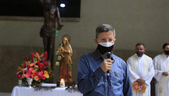 Hospitalizan a gobernador de la región colombiana de Antioquia, Luis Fernando Suárez, por COVID-19. (Foto: Twitter @LuisFSuarezV).