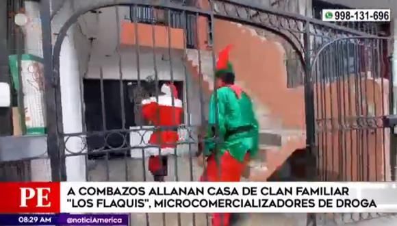 Se les acabó la Navidad a  los cabecilla de Los Flaquis de Villa El Salvador.