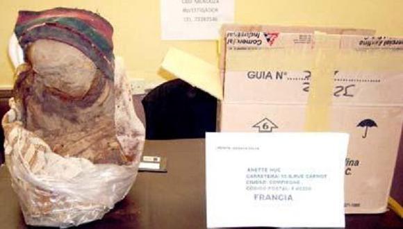 Bolivia devolverá a Perú una momia preincaica incautada por la policía
