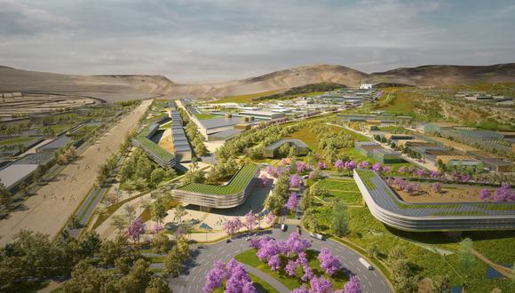 El Parque Industrial de Ancón será un nuevo polo de desarrollo socioeconómico y un motor de empleo con impacto positivo para el Perú, según ProInversión. (IMAGEN: PROINVERSIÓN)