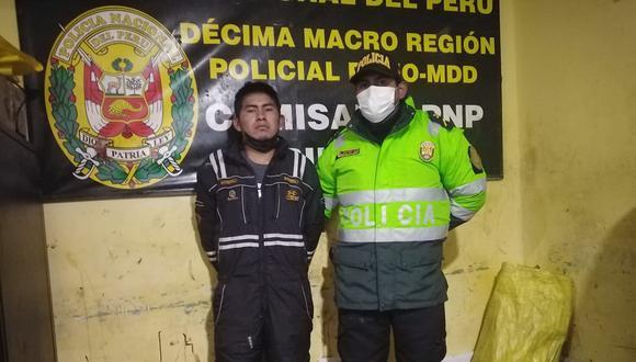 El detenido fue trasladado hasta la dependencia policial. (Foto: Difusión)