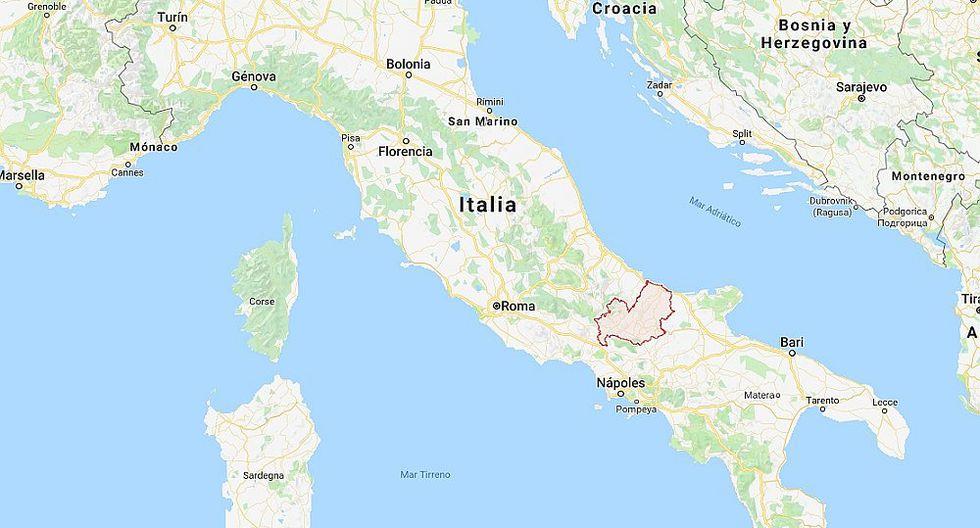 Fuerte sismo se registró en Italia
