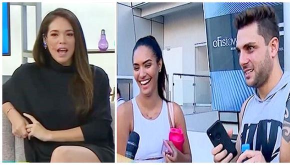 Jazmín Pinedo habló sobre supuesta ruptura de Nicola Porcella y Romina Lozano (VIDEO)